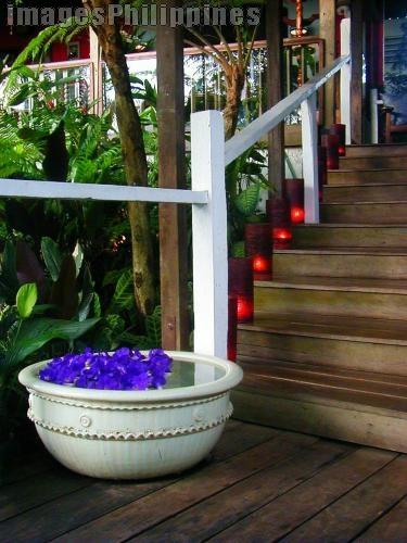 """""""Antonio's Candlelit Stairway2"""",  Place Taken: Antonio's, Tagaytay,Cavite take on  Date Taken: 2005"""