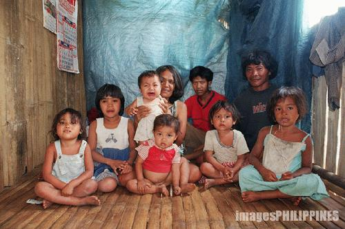 """Lumad Family in their House"", 