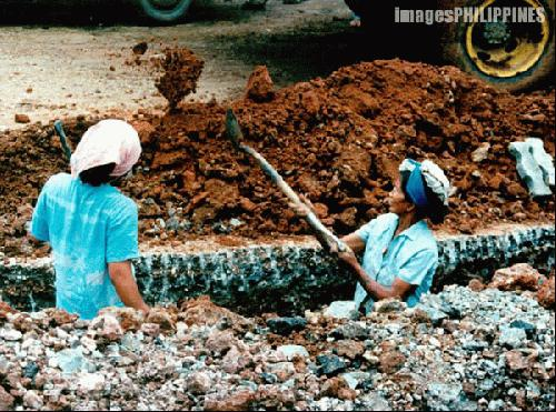 """Women Road Workers"" , 