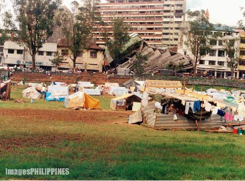 """Baguio: Eventual Tent City"" , 