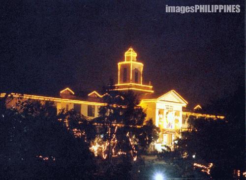 """""""Baguio Cityhall at Night"""",  take on  Date Taken: 2003"""