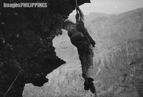 """Rock Climber"" ,  Place Taken: Baguio City take on  Date Taken: 1983"