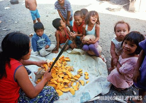 """Lumads Youth and Slicing the Squash"", 
