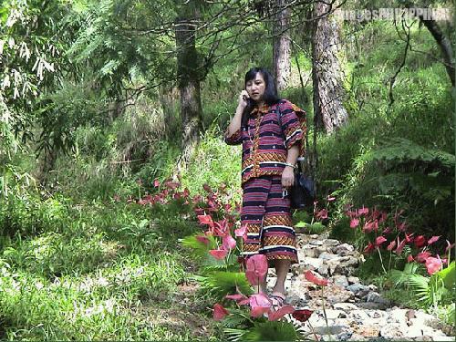 """Igorota"",  Place Taken: Baguio City take on  Date Taken: 2003"
