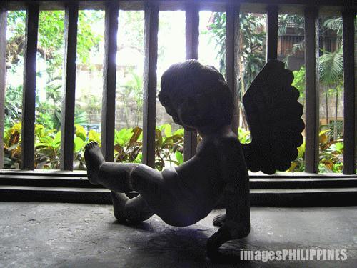 """Ancestral House Angel"",  Place Taken: Lipa City, Batangas take on  Date Taken: 2004"