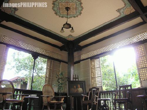 """Ancestral House Ceiling"",  Place Taken: Lipa City,Batangas take on  Date Taken: 2004"