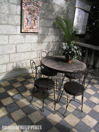 """Ancestral House Veranda and Chair"",  Place Taken: Lipa City,Batangas take on  Date Taken: 2004"