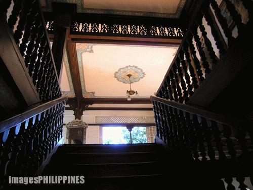 """""""Ancestral House View from the Stairs"""",  Place Taken: Lipa City,Batangas take on  Date Taken: 2004"""