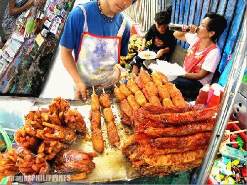 """""""Banana Cue Vendor"""",  Place Taken: Lipa City,Batangas take on  Date Taken: 2004"""