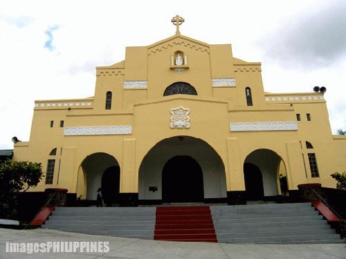 """""""Lipa Carmel Church"""",  Place Taken: Lipa City, Batangas take on  Date Taken: 2004"""
