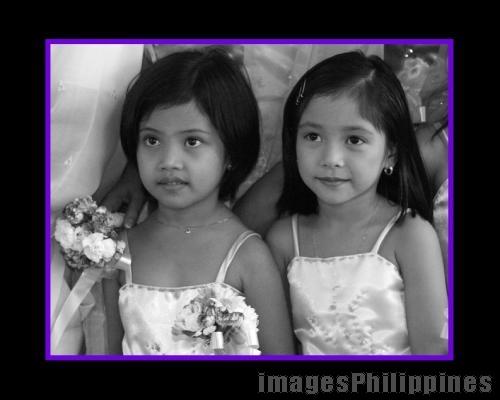 """""""Pretty Flower Girls of Laguna"""",  Place Taken: Cabuyao, Laguna take on  Date Taken:  2004"""