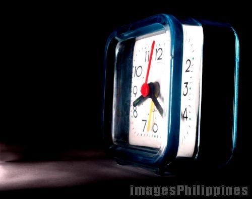 Bathroom Clock,  Place Taken: Cavite take on  Date Taken: 2010