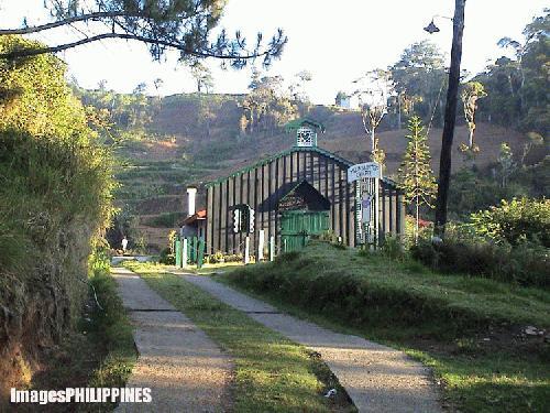 """""""Chapel in Mt. Data"""" ,  Place Taken: Bauko,Mountain Province take on  Date Taken: 2004"""