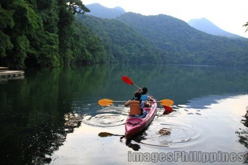 """""""Kayaking in Bulusan Lake"""",  Place Taken: Bulusan Lake, Sorsogon take on  Date Taken: 2010"""