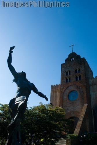 """""""Calaruega Church"""",  Place Taken: Batangas take on  Date Taken: 2009"""