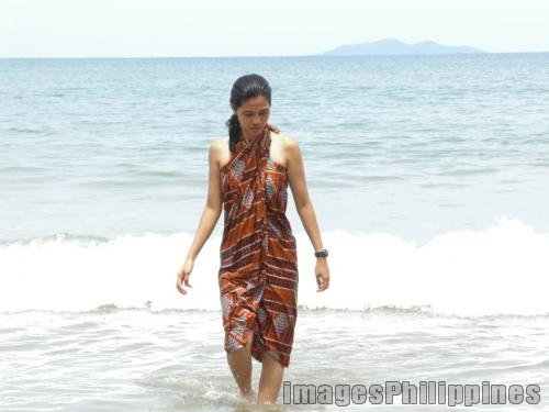 """Nasugbu: Beach and Malong"",  Place Taken: Batangas take on  Date Taken: 2005"