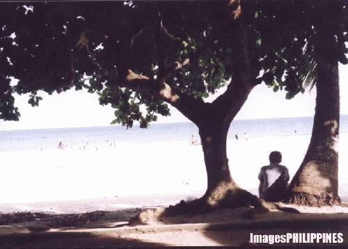 """""""People Watching"""",  Place Taken: Dumaluan Panglao, Bohol take on  Date Taken: 2003"""
