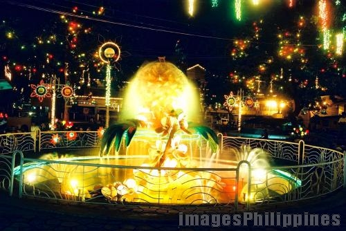 """durian fountain"",  Place Taken: Davao Rizal Park take on  Date Taken: 2004"