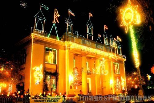 """Christmas 04"",  Place Taken: Davao City Hall take on  Date Taken: 2004"