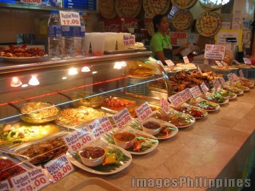 Food Court,  Place Taken: Metro Manila take on  Date Taken: 2005