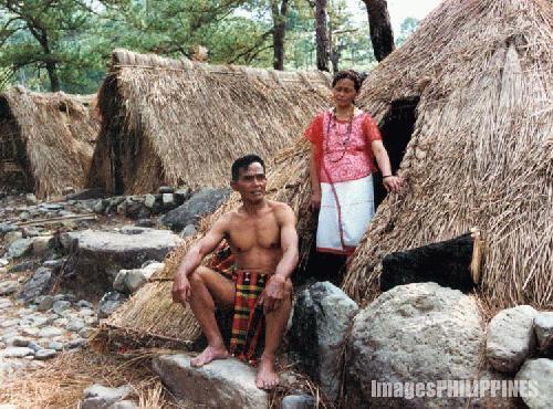 """""""Kalinga Couple Posing for Travel Photographers"""" ,  Place Taken: Balbalan, Kalinga take on  Date Taken: 1996"""