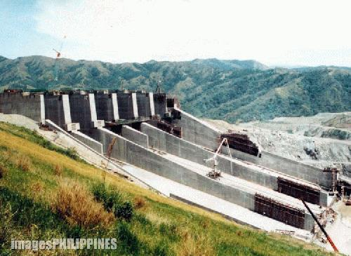 delineation of san roque dam