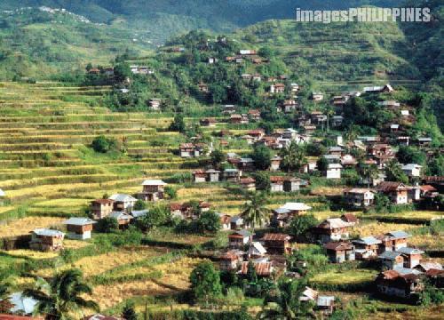 """A View of Sadanga Municipality"" ,  Place Taken: Mountain Province take on  Date Taken: 2001"
