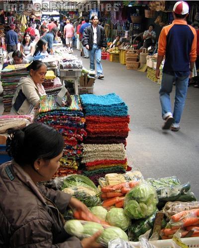 """""""Baguio Market Scene"""",  Place Taken: Benguet take on  Date Taken: 2006"""