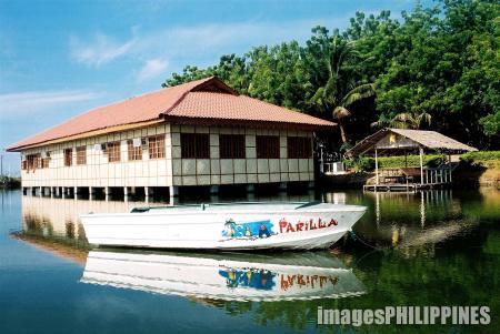 """""""Fishermen's Hall at Isla Parilla"""" ,  Place Taken: Alabel, Sarangani Province take on  Date Taken: 2004"""