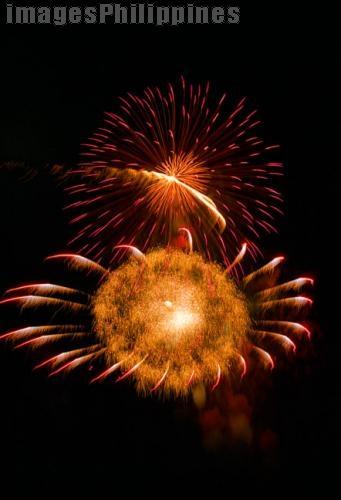"""""""Fireworks at MOA"""",  Place Taken: Metro Manila take on  Date Taken: 2004"""
