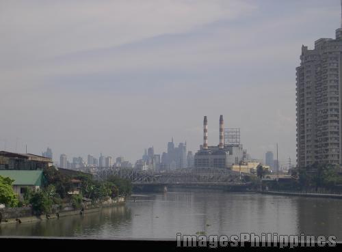 """""""Ayala Bridge"""",  take on  Date Taken: November 2005"""