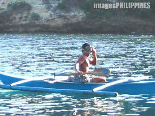 """""""Goggleman"""",  Place Taken: Mindoro Oriental take on  Date Taken: 2004"""