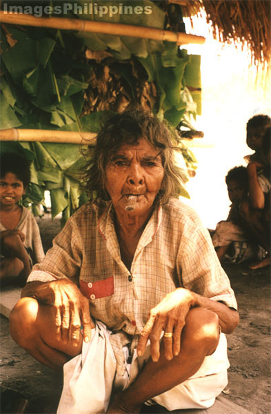 �Old Aeta Woman�