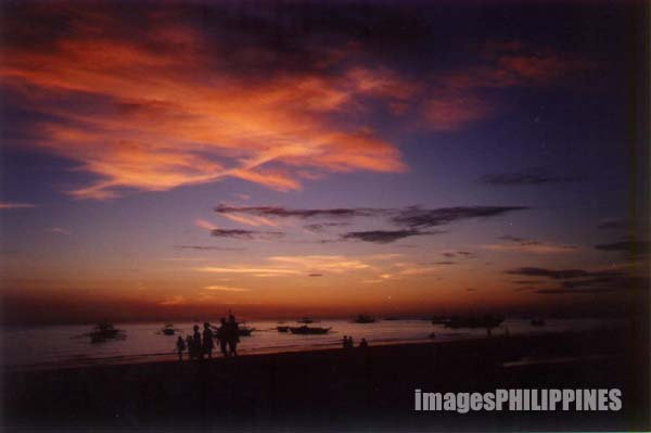 �Boracay Sunset�
