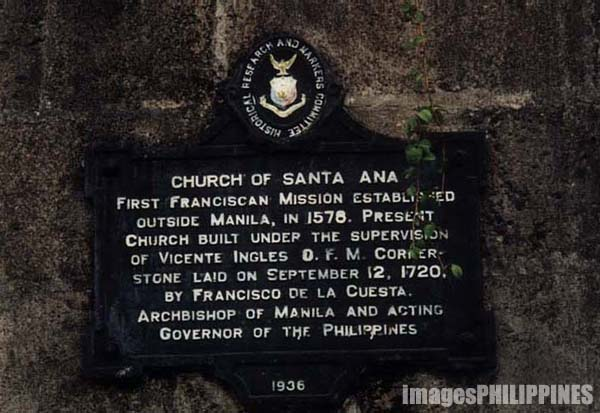 �Sta. Ana Church�