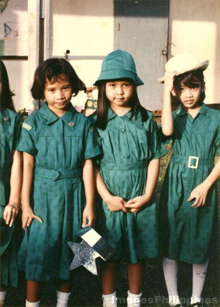 Young Girl Scouts of the Philippines