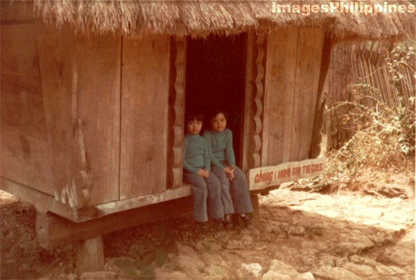 Abung (Home for the Girls) Igorot House