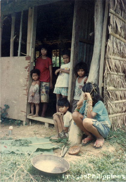 Mangyan of Mindoro cooking herbal medicine