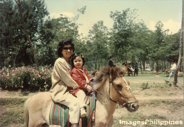 Horseback riding in Baguio, Early Nineties