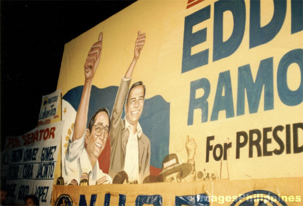1992 Presidential Elections Poster