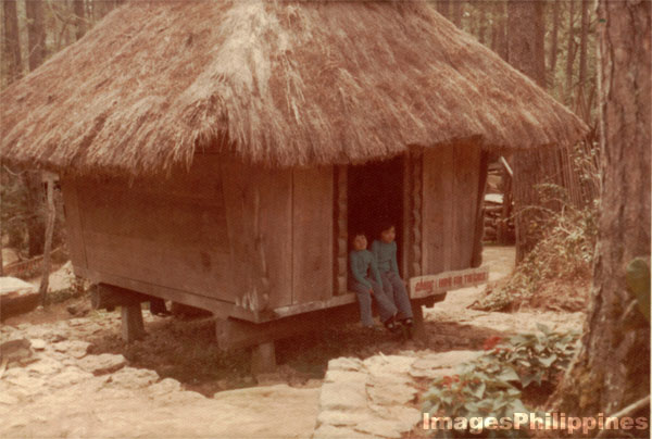 Abung (Home for the Girls) Igorot House,   take on  Date Taken: 1975