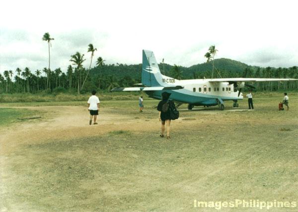 Airstrip, El Nido, Philippines,   take on  Date Taken: 1996
