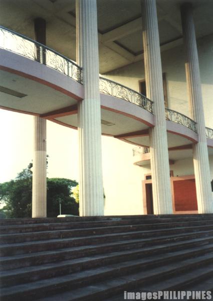 """Quezon Hall"",  Date Taken: 2000 take on  Photographer/Artist: Jocelyn Dimaculangan"