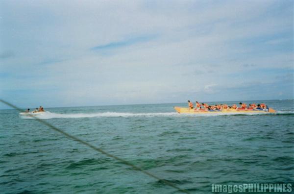 """""""Banana Boat Ride"""",  Place Taken: Aklan take on  Date Taken: 2001"""