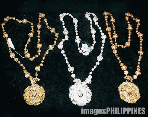 """""""Silver and Gold Plated Necklaces"""",  Place Taken: Baguio City take on  Date Taken: 2004"""