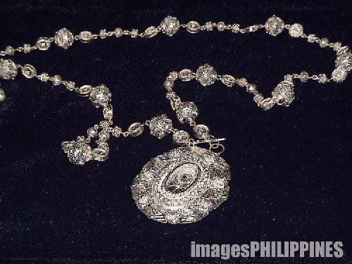 """Silver Necklace"",  Place Taken: Baguio City take on  Date Taken: 2004"