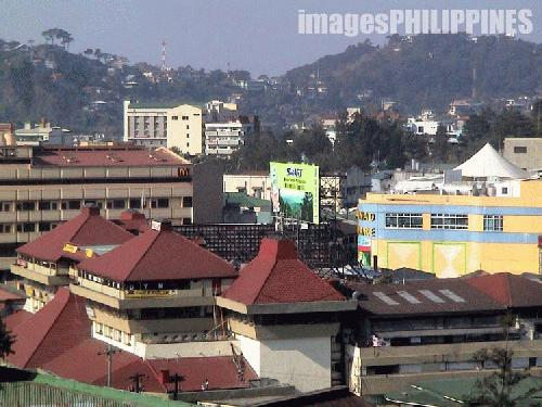 """Baguio's Skyline (slide1)"" , 