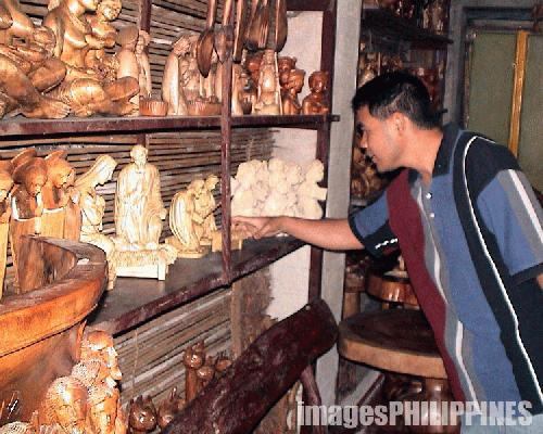 """Baguio Woodcarving Shop"" , 