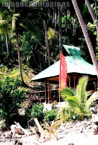 """Cottage"",  Place Taken: Canibad, Samal City, Davao take on  Date Taken: 2005"