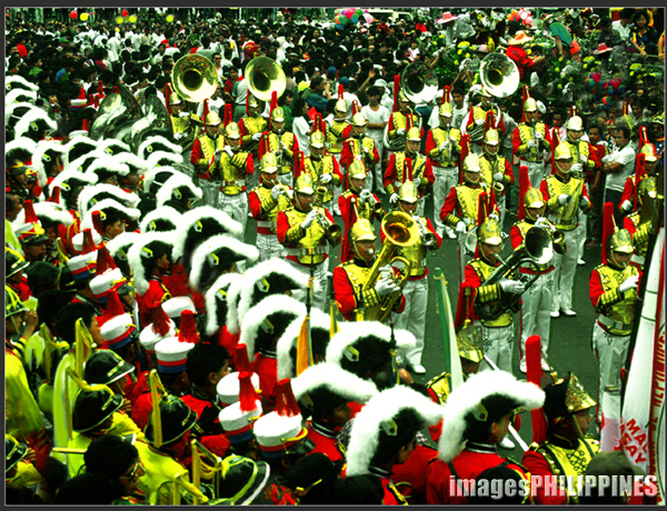 """Boy Marching Band, Quiapo Fiesta""